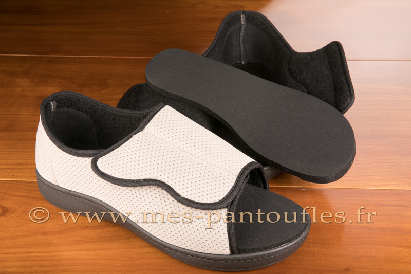 Chaussures grand confort à bout ouvert - 9ortho03