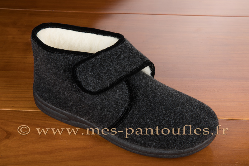 Chausson scratch homme anthracite - 9scratch010