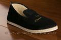 9c084 Charentaises noires brodées confort crêpe. <br>Pointure 46 à 44.90 EUR