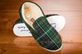 9c111 Charentaises écossais vert confort crêpe <br>Pointure 40 à 44.90 EUR