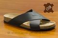 9esp034 Sandales cuir noir pour hommes <br>Pointure 45 à 54.90 EUR