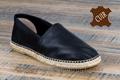 9esp066 Espadrilles cuir noir pour homme <br>Pointure 46 à 67.40 EUR