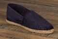 9espt202 Espadrilles cousues main en jean <br>Pointure 45 à 21.90 EUR