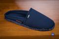 9gies19 Pantoufles toile bleue semelle antidérapante <br>Pointure 43 à 39.99 EUR