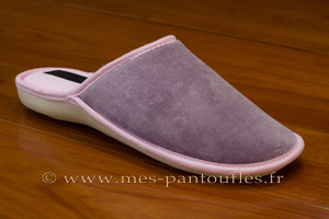 Mules femmes lilas