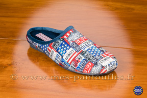 Mules hommes chic USA