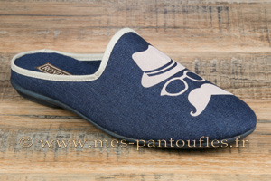 Mules hommes chic jean